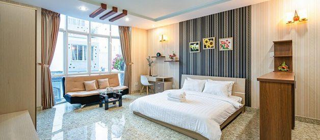 Real estate sofa binh thanh studio rent